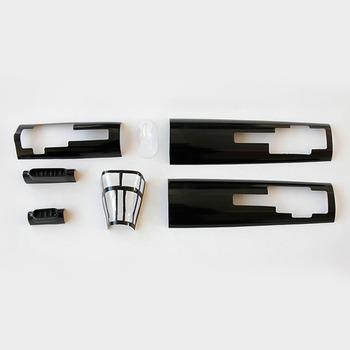 Dynam P61 Black Widow Plastic Parts Set picture