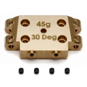 Team Associated B5/B5M Factory Team Brass Bulkhead 30 Degree (45G) picture