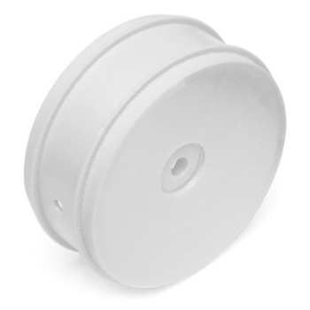 """Team Associated 61MM Buggy Front 2Wd Wheel Hex 12MM White For 2.4"""" Vtr Type picture"""