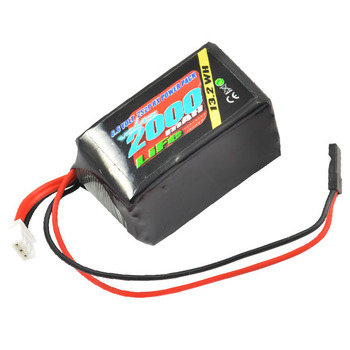 VOLTZ 2000mah 2S 6.6V RX LiFe HUMP BATTERY PACK picture