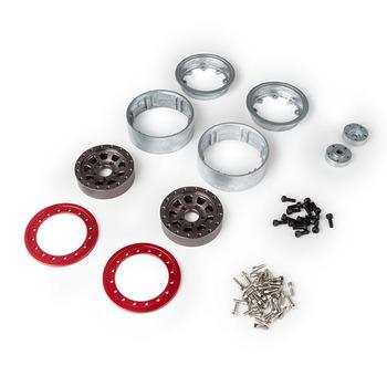 Gmade 1.9 Ar04 5 Lug Aluminium Beadlock Wheels (2) picture