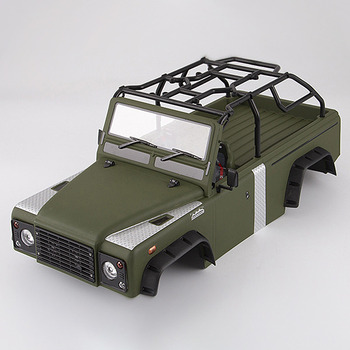 Killerbody Marauder Ii Finished Body Matte Military Green (Painted) Light Buckets Assembled Fit For Traxxas Trx-4 picture