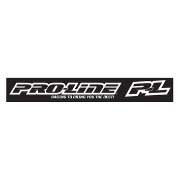 CML Pro-Line White Window Decal picture
