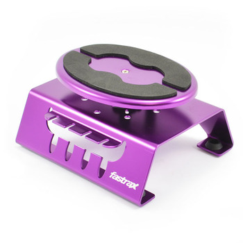 Fastrax Purple Alum Locking Rotating Car Maintenance Stand W/Magnet picture