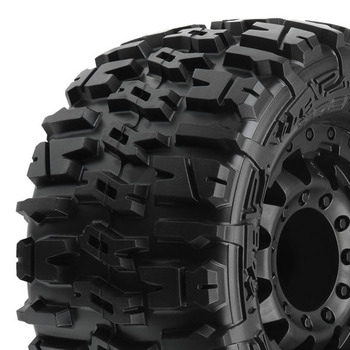 Proline Trencher 2.8 All Ter. Tyres On Blk F11 Wheels (17mm) picture