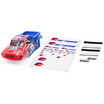 Carisma GT24T Truck Body Paint Ed Body Set (Red/Blue) picture