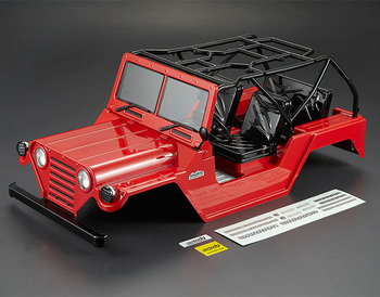 Killerbody Warrior 1/10 Crawler Finished Red Body picture