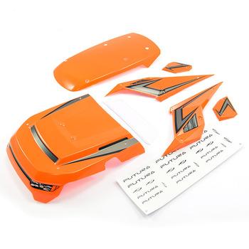 FTX Futura Body Panels W/Decal Sheet - Orange picture