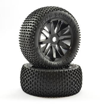 FTX Futura Rear Block Pin Tyres/Wheels Mounted (Pr) picture