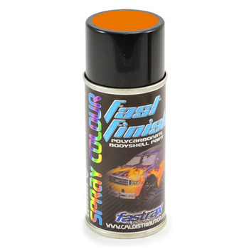 Fastrax Fast Finish Orange Power Spray Paint 150ML picture
