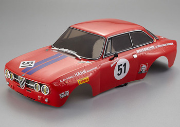 Killerbody Alfa Romeo 2000 GTam 190MM Finished Body Red picture