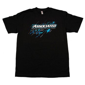 Team Associated AE 2017 Worlds Tee (T-Shirt) Black (Xl) picture
