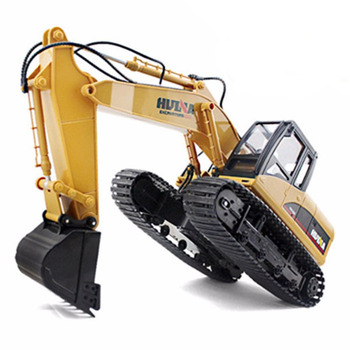 Huina 1/14 Scale RC Excavator 2.4G 15Ch W/Die Cast Bucket picture