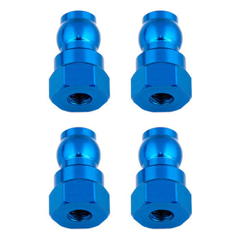 Team Associated Shock Bushings 12 MM Blue Aluminum picture