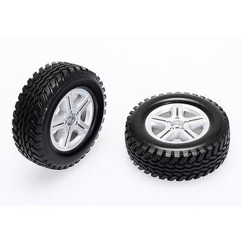 Cen Scale Tires Set (Pre Glued , 91X34X56MM Hard Compound) picture