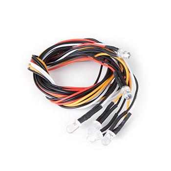Gmade Sawback Led Light Kit 5MM White (4) & 5MM Red (2) picture