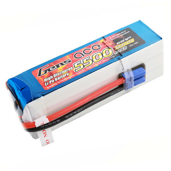 Gens Ace 5500Mah 22.2V 45C 6S1 P Model Helicopter LiPo Batter picture