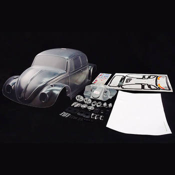 Carisma M10DT Volkswagen Beetle Clear Body Shell picture