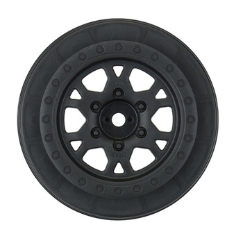 "Proline Impulse 2.2""/3.0"" Black Wheels (Slash Rear/4wd) picture"