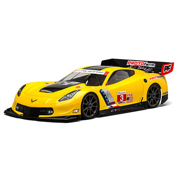 Protoform Chevrolet Corvette C7.r Clearbody For 1:8GT Lwb picture
