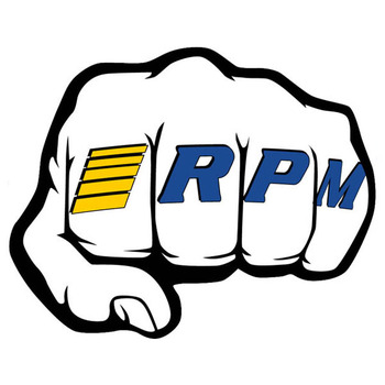 Rpm 'Fist' Logo Decal Sheets picture