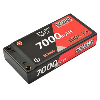 Centro 7000mah 1s 3.7v 100c Hardcase LiPo Battery picture