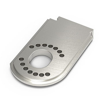 Gmade Gs02 Motor Plate (Silver) picture