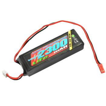 VOLTZ 2300mah 2S 6.6V RX LiFe STRAIGHT BATTERY PACK picture