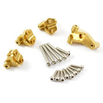 Fastrax Trx-4 Brass Front/Rear Link Mount Set picture