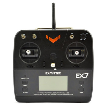 Volantex Exmitter 7-Channel Radio W/Lcd SCreen picture