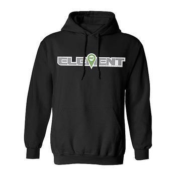 Element RC Logo Hood Pullover Black - Medium picture