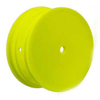 """Team Associated Buggy Wheel 12mm Hex 2.2"""" 4wd Front Yellow B64 picture"""