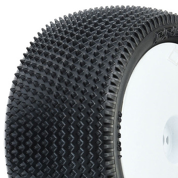 """Pro-Line 'Prism 2.0' 2.2"""" Z3 Rear Tyre On White Hex Wheels picture"""