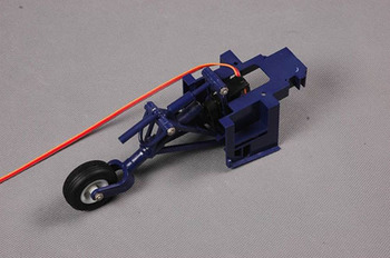 Fms 1700MM F4U Rear Landing Gear System (Blue) picture