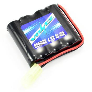 Voltz Hobby 4.8v 800mah Nimh Battery W/ Mini Tamiya Plug (He00010) picture