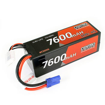 Centro 4S 7600Mah 14.8V 100C Hardcase Lipo Battery Ec5 picture