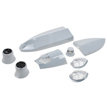 Dynam Catalina Blister Parts (Grey)-Canopy,Covers,Underpan picture