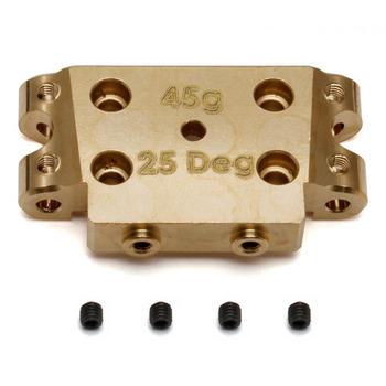 Team Associated B5/B5M Factory Team Brass Bulkhead 25 Degree (45G) picture