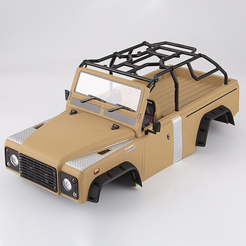Killerbody Marauder Ii Finished Body Matte Military Desert (Painted) Light Buckets Assembled Fit For Traxxas Trx-4 picture
