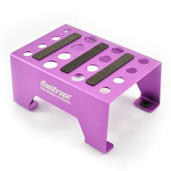 Fastrax Universal Aluminium Car Stand Purple picture