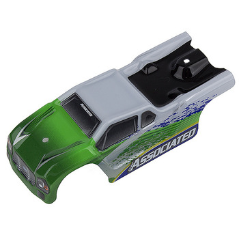 Team Associated Associated Tr28 Body White/ Green picture