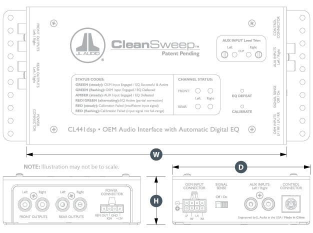 CL441dsp  Car Audio  OEM Interface  OEM Integration