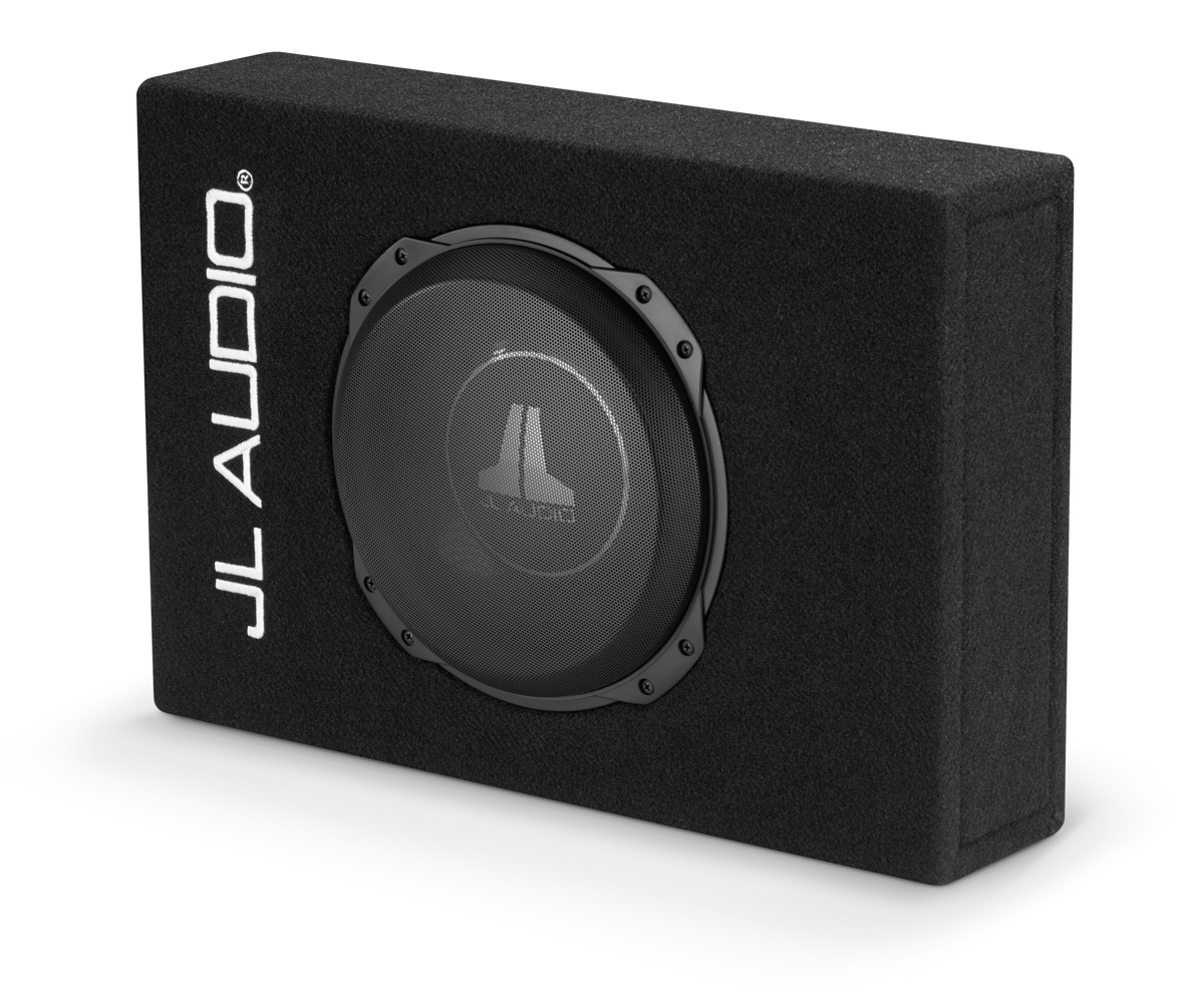 details about jl audio cs110lg tw3 single 10tw3 powerwedge, sealed, 2� sub box