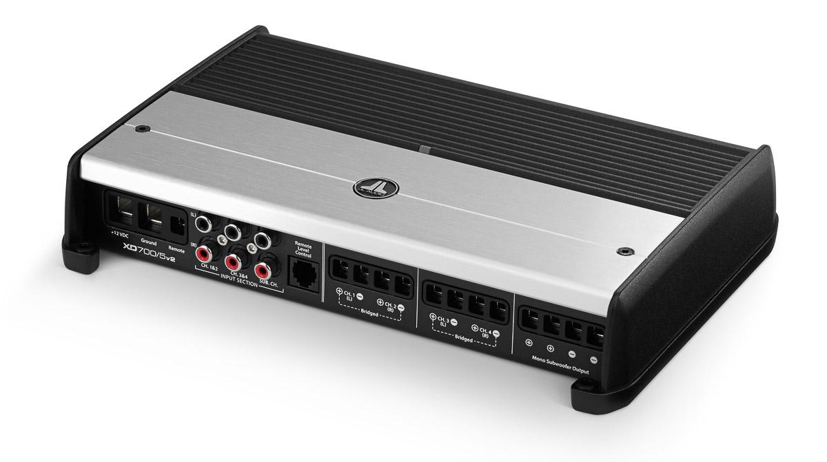 xd700/5v2: 5 ch  class d system amplifier, 700 w