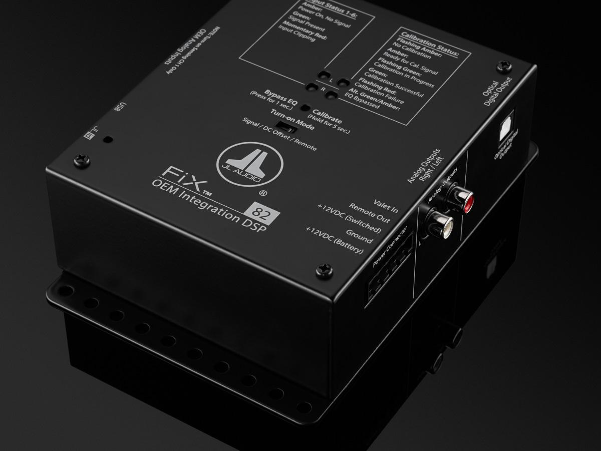FiX-82 - Car Audio - Processors - OEM Integration - JL Audio