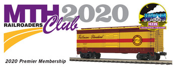 2020 MTHRRC Premier Line O Gauge Club Membership picture
