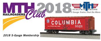 2018 MTHRRC S Gauge Club Membership picture