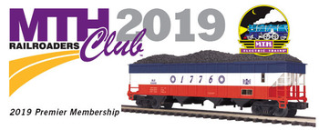 2019 MTHRRC Premier Line O Gauge Club Membership picture