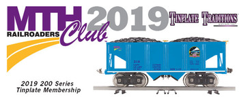 2019 MTHRRC Tinplate Traditions 200 Series Club Membership picture