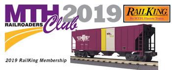 2019 MTHRRC RailKing O Gauge Club Membership picture